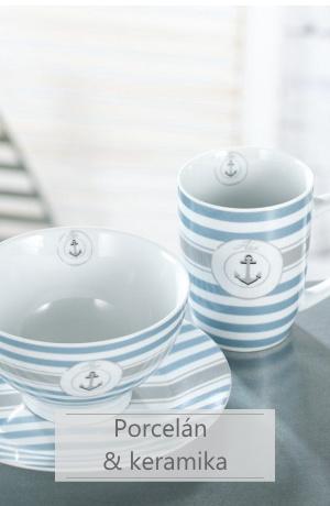 stolní porcelán a keramika