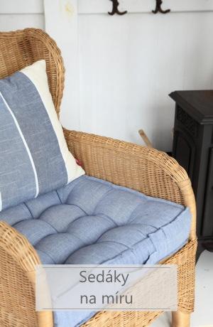 sedáky na židle - na míru